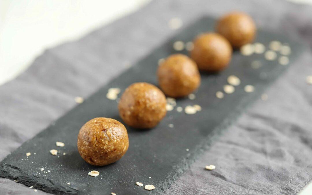 Energy Balls de Manteiga de Amendoim